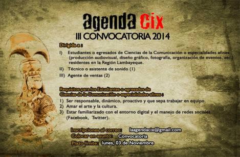 CONVOCATORIA AGENDA CIX